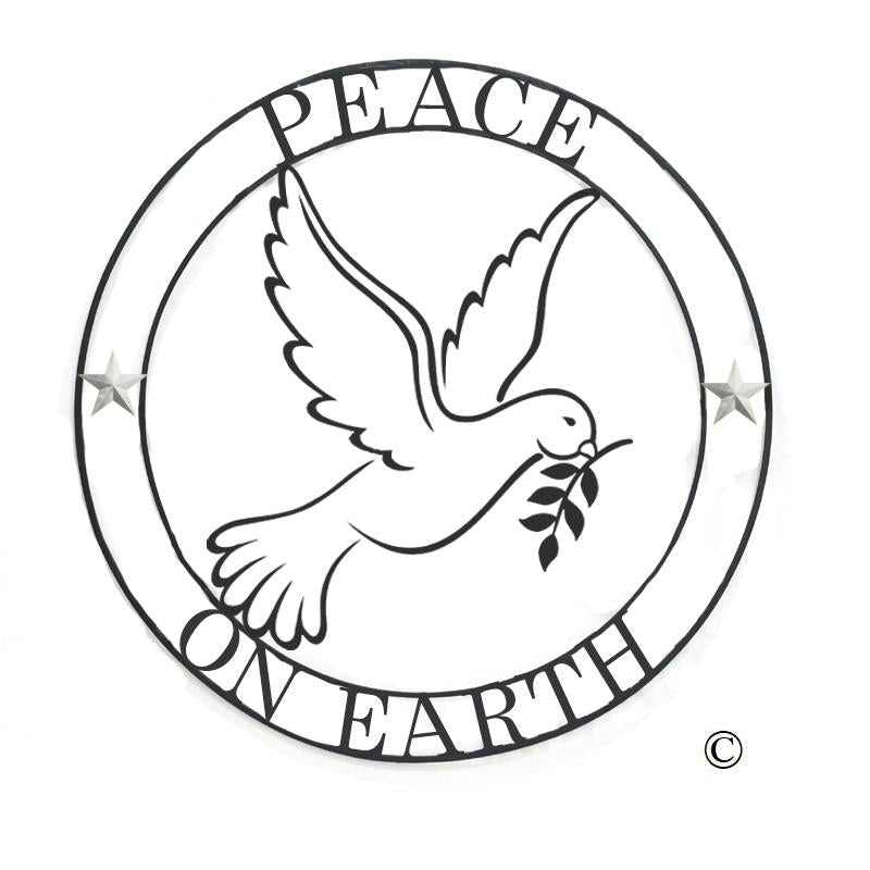 TRI PEACE ON EARTH 22`` CIRCLE