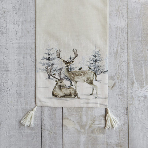HARMAN - REINDEER FOREST TABLE RUNNER