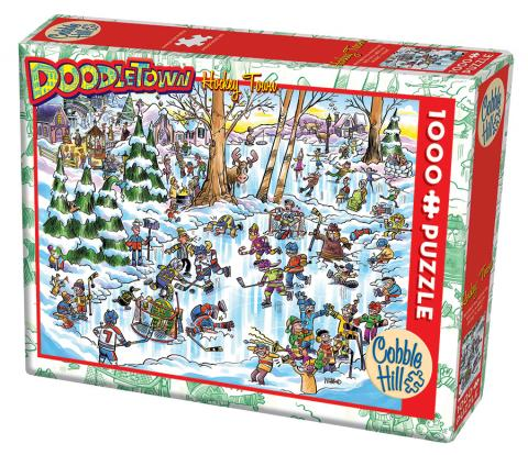 Doodletown: Hockey Town Puzzle