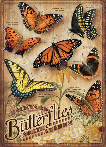 Backyard Butterflies Puzzle