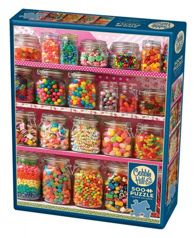 Candy Shelf Puzzle