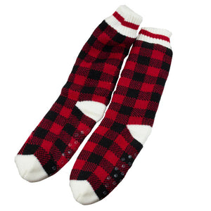 SIMI - BUFFALO CHECK COZY INDOOR SOCKS