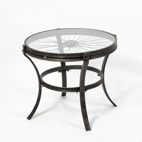 Small Uni Round Table - Black
