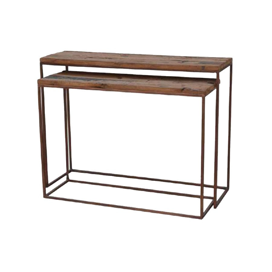 NORTH AMER - NESTING TABLE COPPER