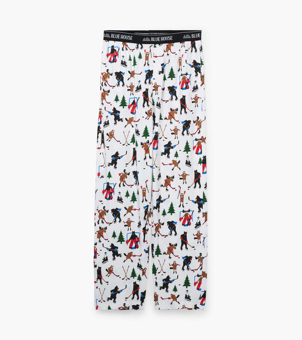 HATLEY - WILD ABOUT HOCKEY MENS PAJAMA PANTS