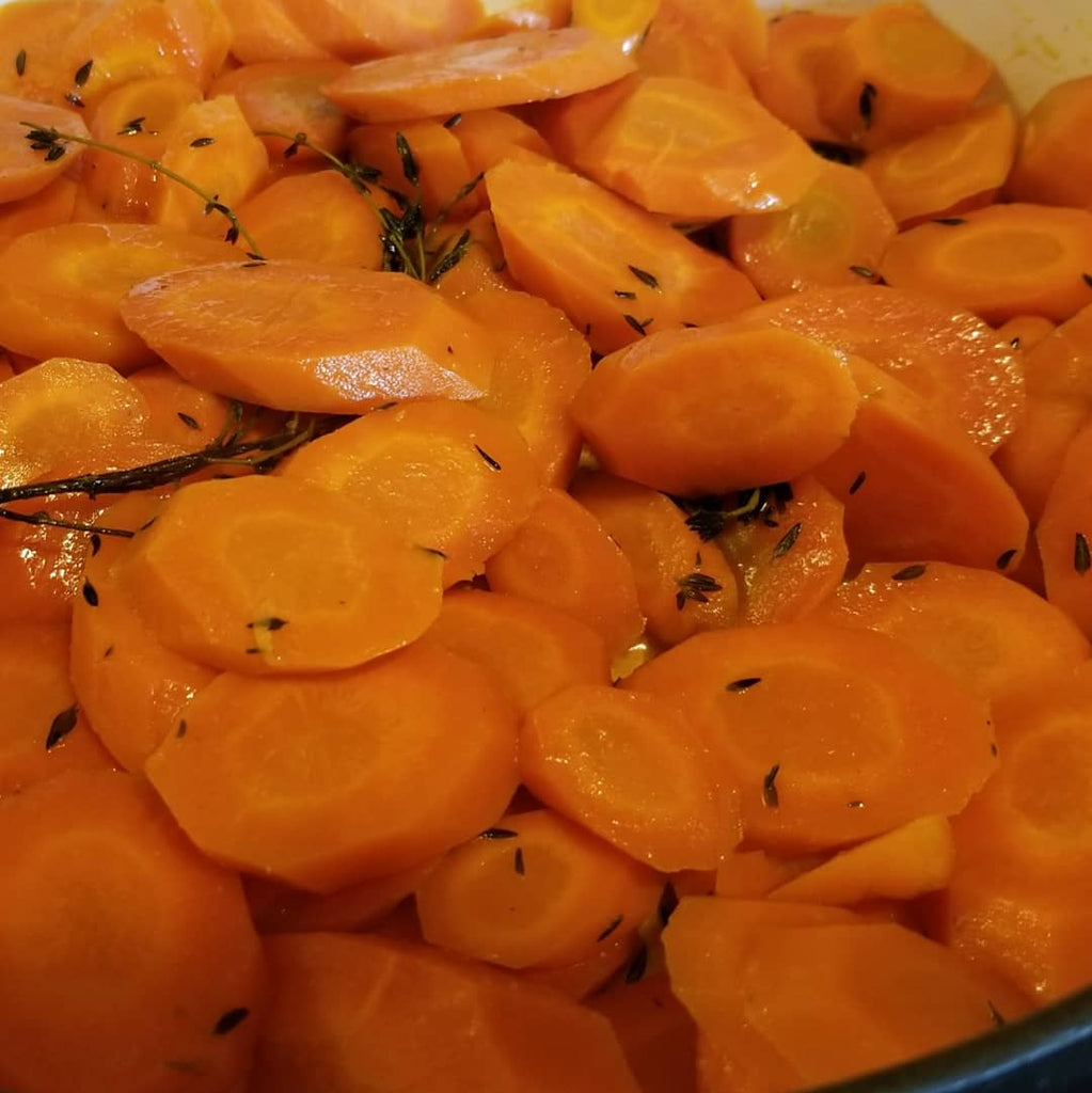 Peach-Apricot Glazed Carrots