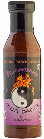 * Jessi's Flaming Fruit Sauce Original 'Everything' Sauce - FULL 12 oz size!