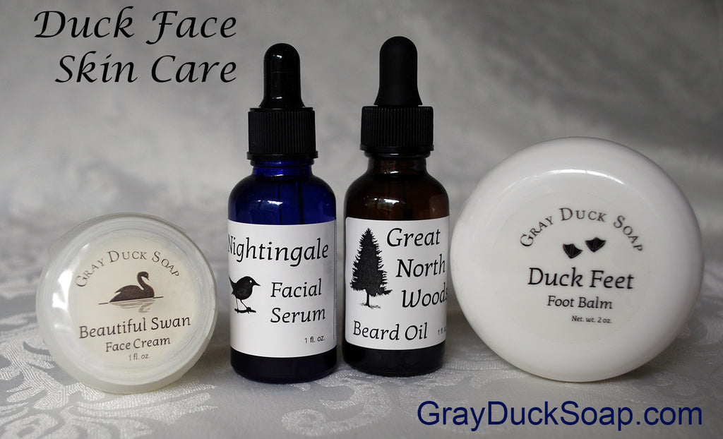 New All-Natural Duck Face Skin Care