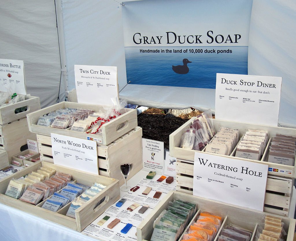 Gray Duck Soap profiled in local paper