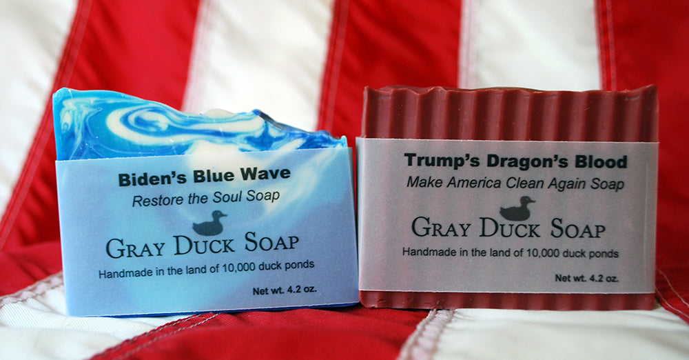 Election Soap: Because even your bathroom is partisan