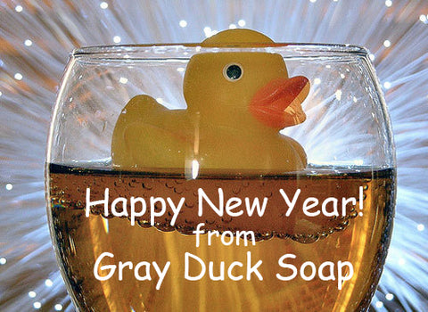 Happy New Year! Bathe responsibly tonight.