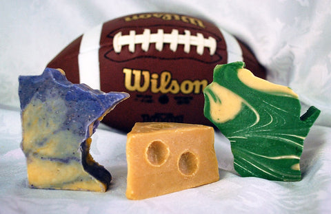 Vikings and Packers Minnesota vs.Wisconsin football soap