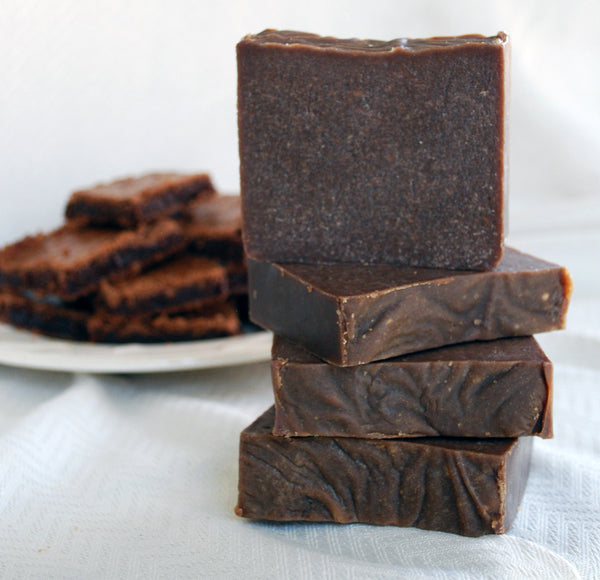Chocolate Brownie Goat's Milk Soap