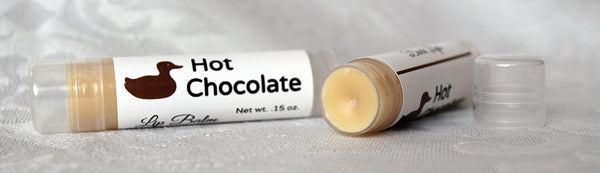 Duck Lips: Hot Chocolate lip balm
