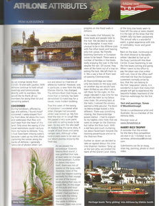 Athlone piece published Inland Waterways Magazine?