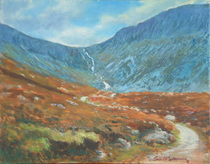 Comeragh Mountains Waterford. Oils