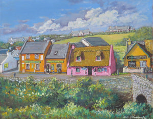 Fisher Street Doolin oils 40 x 50cm