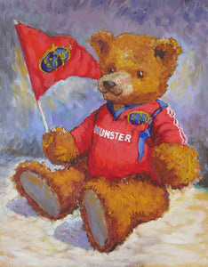 'Munster Teddy' oils on canvas