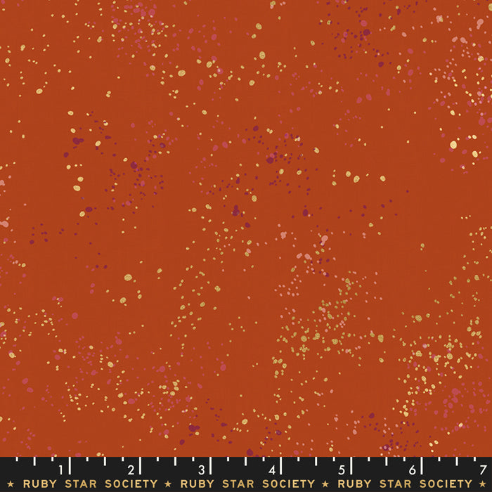 Speckled in Cayenne by Rashida Coleman-Hale of Ruby Star Society for Moda, Designer Fabric, Ruby Star Society, [variant_title] - Mad About Patchwork