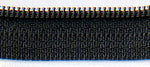 "14"" zipper in Basic Black, Zipper, Atkinson Designs, [variant_title] - Mad About Patchwork"
