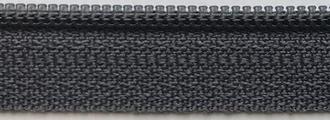 "14"" zipper in Charcoal"