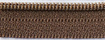 "14"" zipper in Coffee Bean, Zipper, Atkinson Designs, [variant_title] - Mad About Patchwork"