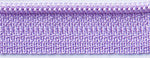 "14"" zipper in Princess Purple"