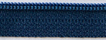 "22"" zipper in Navy Blue"