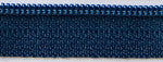 "14"" zipper in Navy Blue"