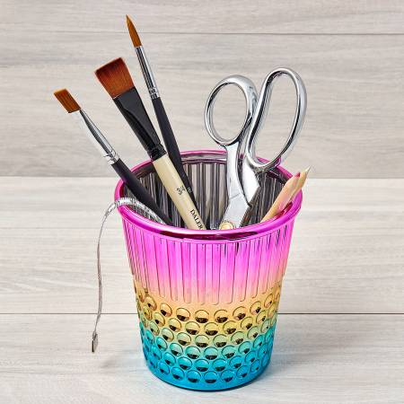 Plastic Rainbow Thimble Craft Container, Notion, Tacony, [variant_title] - Mad About Patchwork