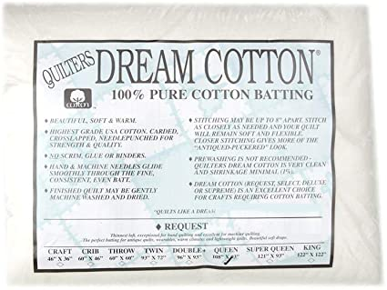 Quilters Dream Cotton Batting, Batting, Quilters Dream, [variant_title] - Mad About Patchwork