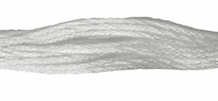 Presencia Perle 12 wt 0001  White, Thread, Presencia, [variant_title] - Mad About Patchwork