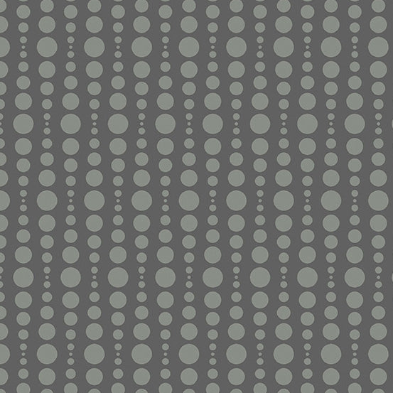 Bubble in Charcoal for Stealth by Libs Elliott for Andover Fabrics, Designer Fabric, Andover, [variant_title] - Mad About Patchwork