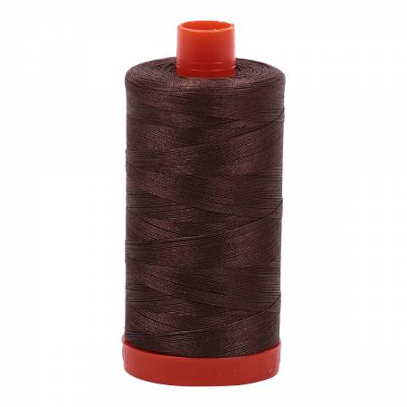 Aurifil Thread Solid 50wt  - Bark -1140, Thread, Aurifil, [variant_title] - Mad About Patchwork