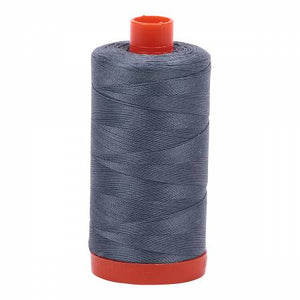 Aurifil Thread Solid 50wt  - Dark Grey  -1246, Thread, Aurifil, [variant_title] - Mad About Patchwork