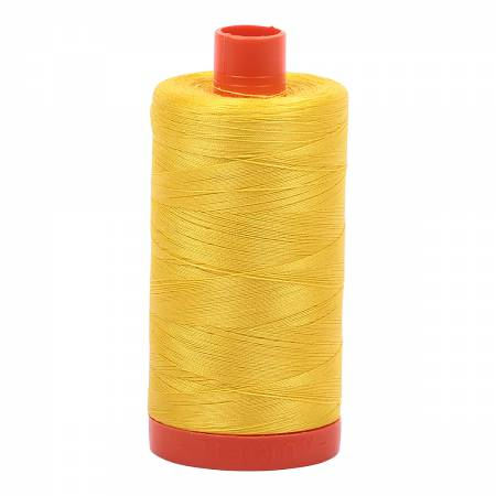 Aurifil Thread - Cotton Thread Solid 50wt -  Canary - 2120, Thread, Aurifil, [variant_title] - Mad About Patchwork