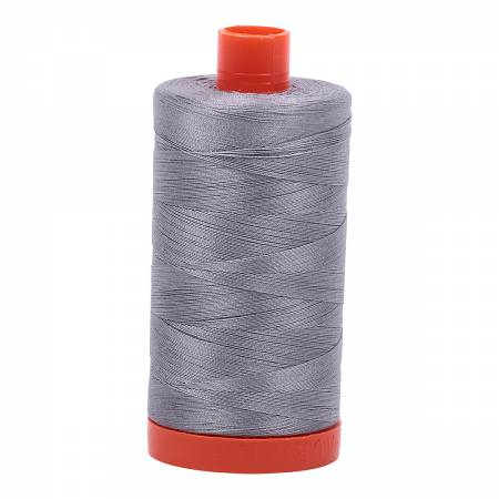 Aurifil Thread Solid 50wt  - Grey  -2605, Thread, Aurifil, [variant_title] - Mad About Patchwork