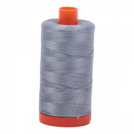 Aurifil Thread Solid 50wt  - Light Blue Grey  -2610, Thread, Aurifil, [variant_title] - Mad About Patchwork