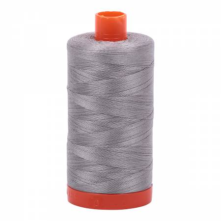 Aurifil Cotton Thread — Color 2620 Stainless Steel