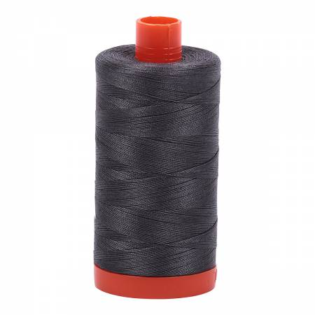 Aurifil Thread - Cotton Thread Solid 50wt - Grey Pewter - 2630, Thread, Aurifil, [variant_title] - Mad About Patchwork