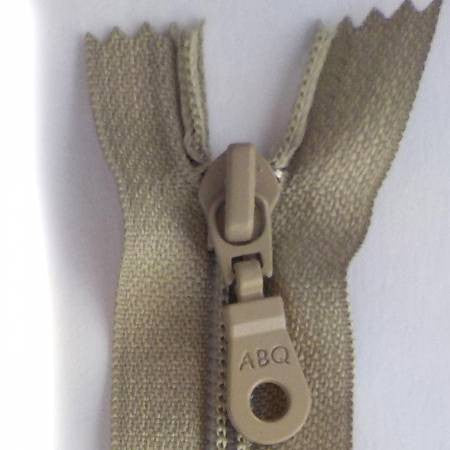 "14"" Bag Zipper in Simply Taupe"