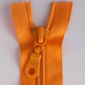 Bag Zipper in Pumpkin