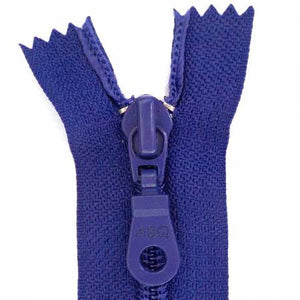 "Bag Zipper in Royal Blue, Zipper, Among Brenda's Quilts, 14"" - Mad About Patchwork"