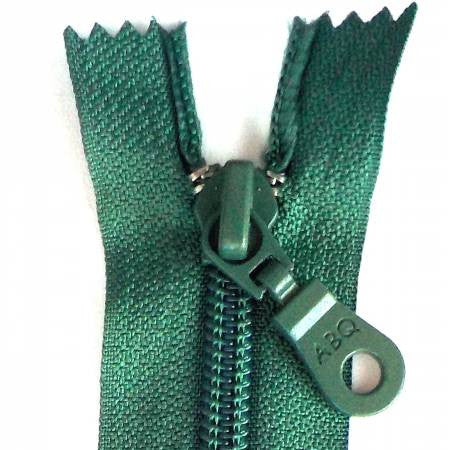"14"" Bag Zipper in Blue Spruce"