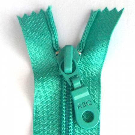 "14"" Bag Zipper in Turquoise"