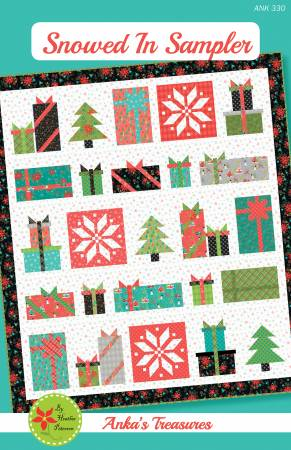 Snowed in Sampler, Pattern, Anka's Treasure, [variant_title] - Mad About Patchwork