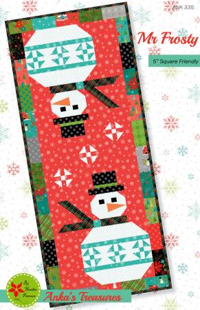 Mr. Frosty, Pattern, Anka's Treasure, [variant_title] - Mad About Patchwork