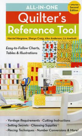 All-in-One Quilter's Reference Tool, Pattern Book, Stash Books, [variant_title] - Mad About Patchwork