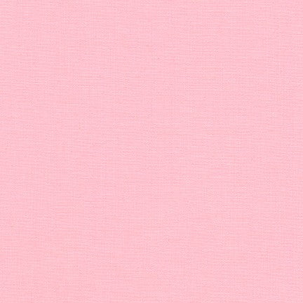 Kona Baby Pink, Solid Fabric, Robert Kaufman, [variant_title] - Mad About Patchwork