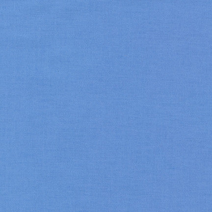 Robert Kaufman Kona Cotton K001-196 Blue Jay
